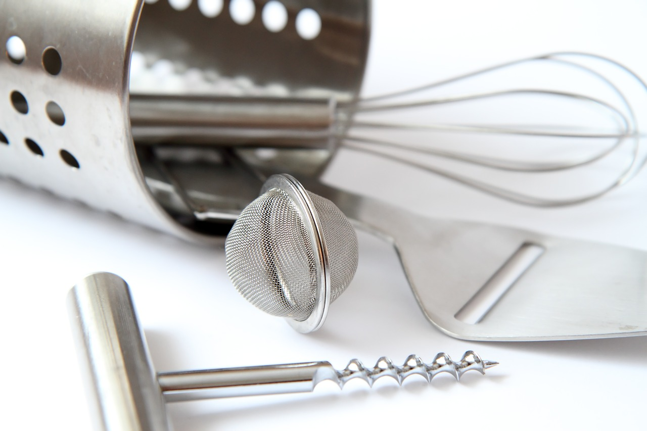 A silver fork on a table