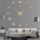 The Modern Frameless Wall Clock, Easy to Install and Enjoying the Happy Time of DIY with Your Family